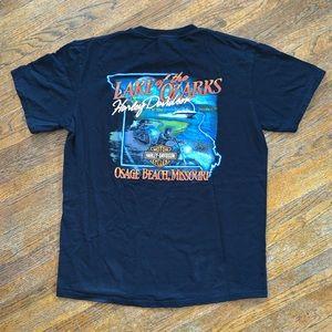 Harley-Davidson Lake of the Ozarks Shirt Size L